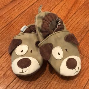 Robeez Soft Sole Puppy Slip On Shoes